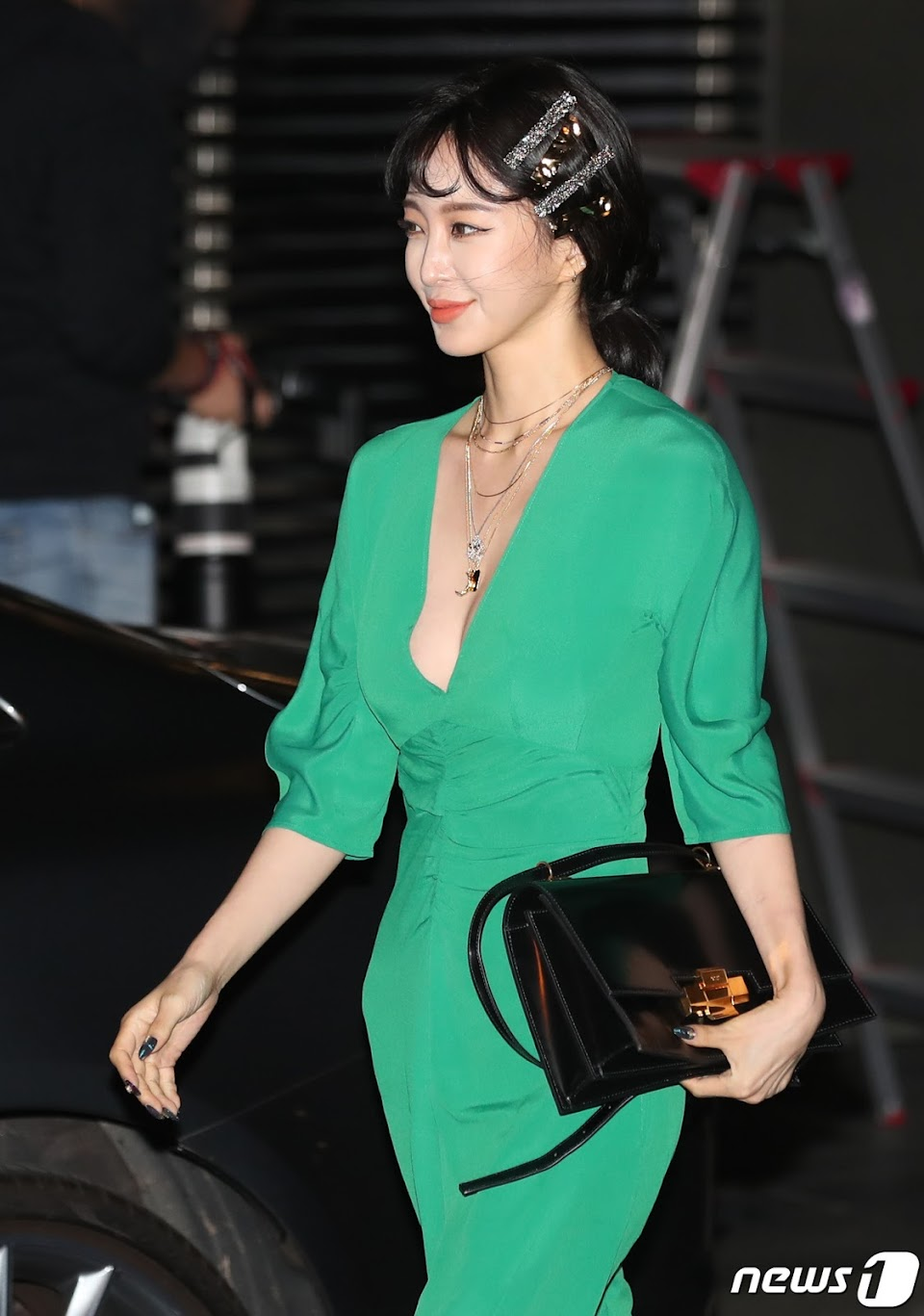 han ye seul green dress 7