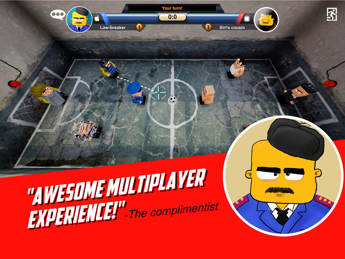 Jail football- screenshot