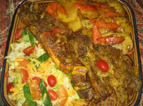 My Way Of Doing Dibee With Potatoes & Carrots, It's An African Dish