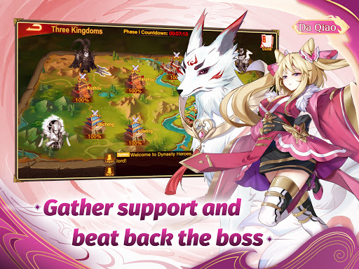 Dynasty Heroes: Legend of SamKok apktram screenshots 8