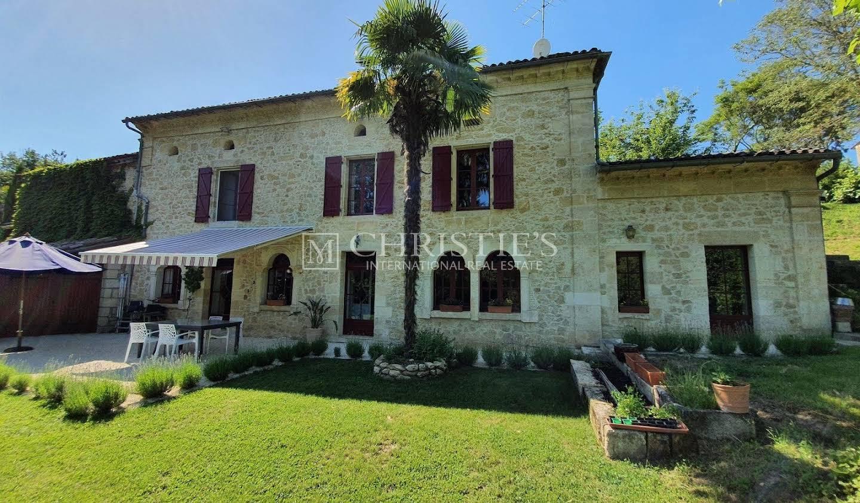 Maison avec piscine Saint-Emilion