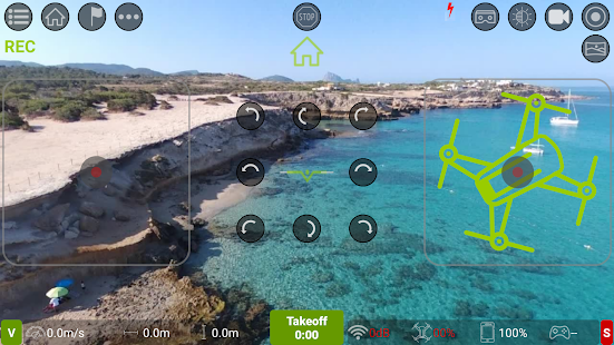 Tello FPV - Control the Ryze Tello drone FPV + RTH Screenshot