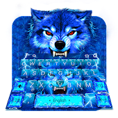 Blue Lightning Wolf Keyboard Theme Android APK Download Free By Bs28patel