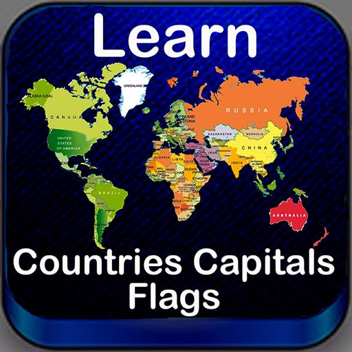World Capitals Flags Quiz Maps
