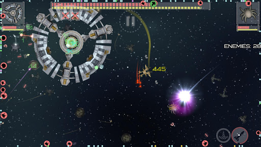 Event Horizon: spaceship builder and alien shooter 2.5.2 screenshots 13
