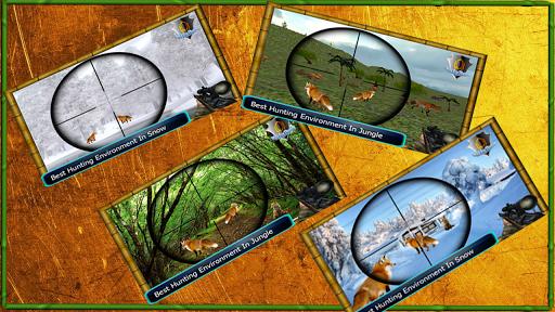jungle animal sniper hunt: fox