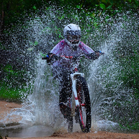 RIDE THE RIVER by Pras Manan - Sports & Fitness Cycling
