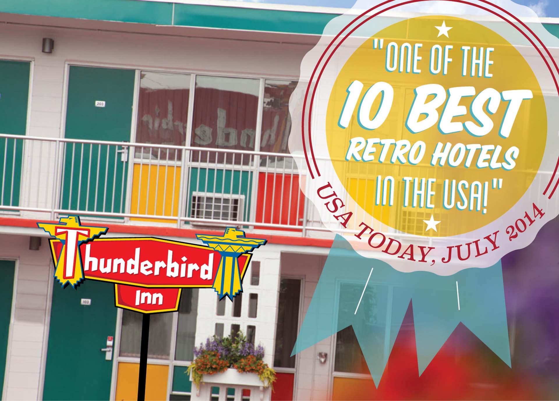 Retro Savannah Hotel The Thunderbird Inn