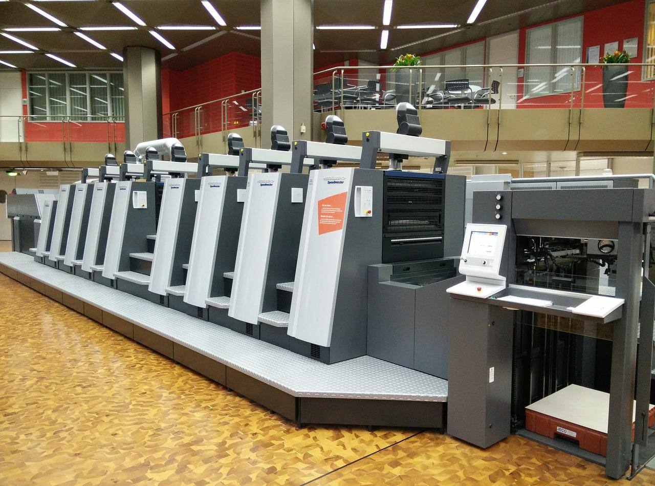 Digital printing press