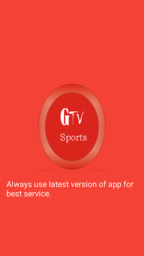 GTV Sports HD 1.0.6 screenshots 1