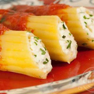 Stuffed Manicotti Ricotta Cheese Recipes.