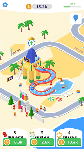 Idle Aqua Park - screenshot