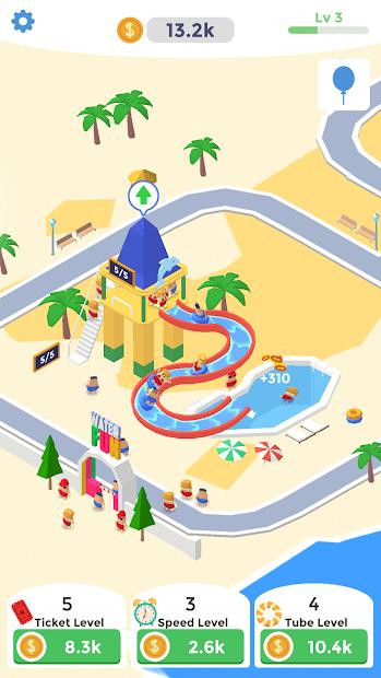 Idle Aqua Park Android App Screenshot