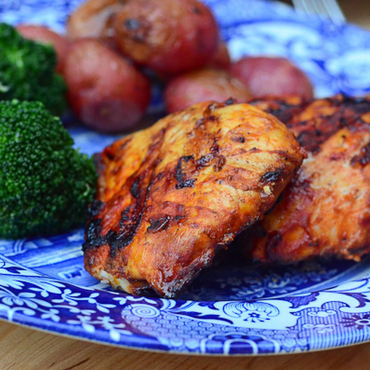 Smoky Grilled Paprika Chicken
