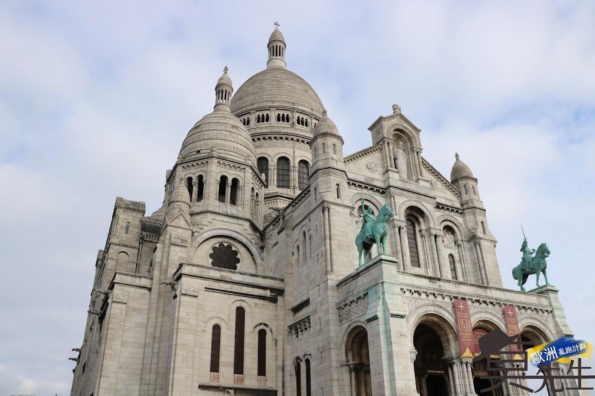 巴黎散步路線 | 蒙馬特 | 小丘廣場、聖心堂