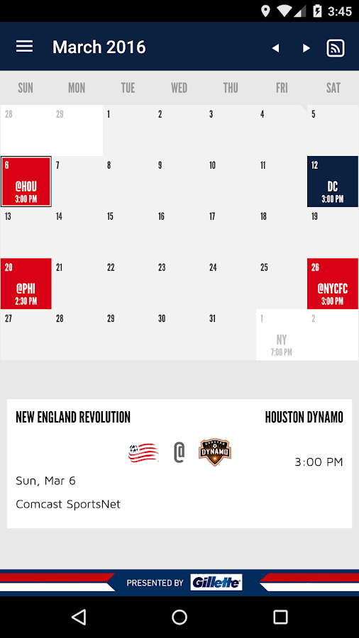 New England Revolution- screenshot