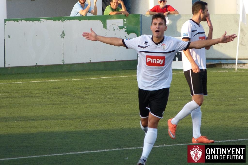 Fernando Doménech Ontinyent CF 3 - CD Castellon