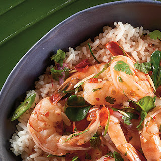 Pla Goong (Spicy Thai Shrimp Salad)