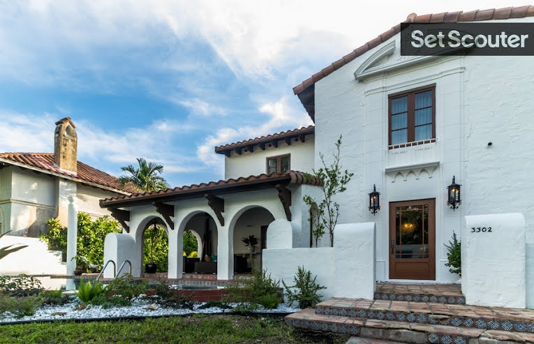 Spanish Style Homes Miami Film Locations Set Scouter