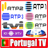 Portugal TV : Direct and Replay 2019 Icon