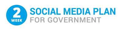 2-Week Social Media Plan for Government