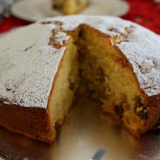 Rum and Raisin Christmas Spirit Cake Recipe