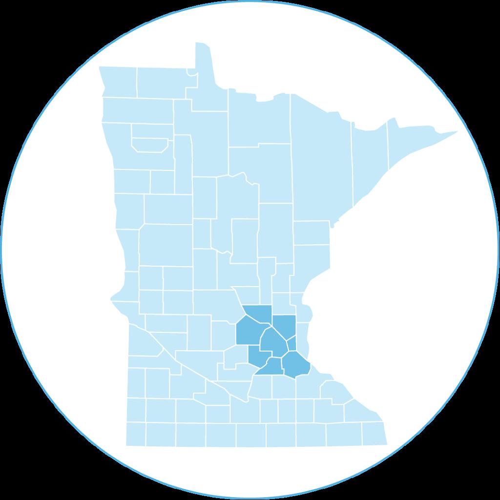 Eligible MN counties: Sherburne, Anoka, Ramsey, Dakota, Scott, Carver, Wright and Hennepin