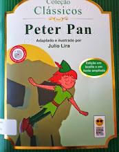 Photo: Peter Pan -Coleção Clássicos Barrie, J.M.  Localização: Braille J B27p  Edição Braille e em fonte ampliada - acompanha CD com versão falada e audiodescrição -