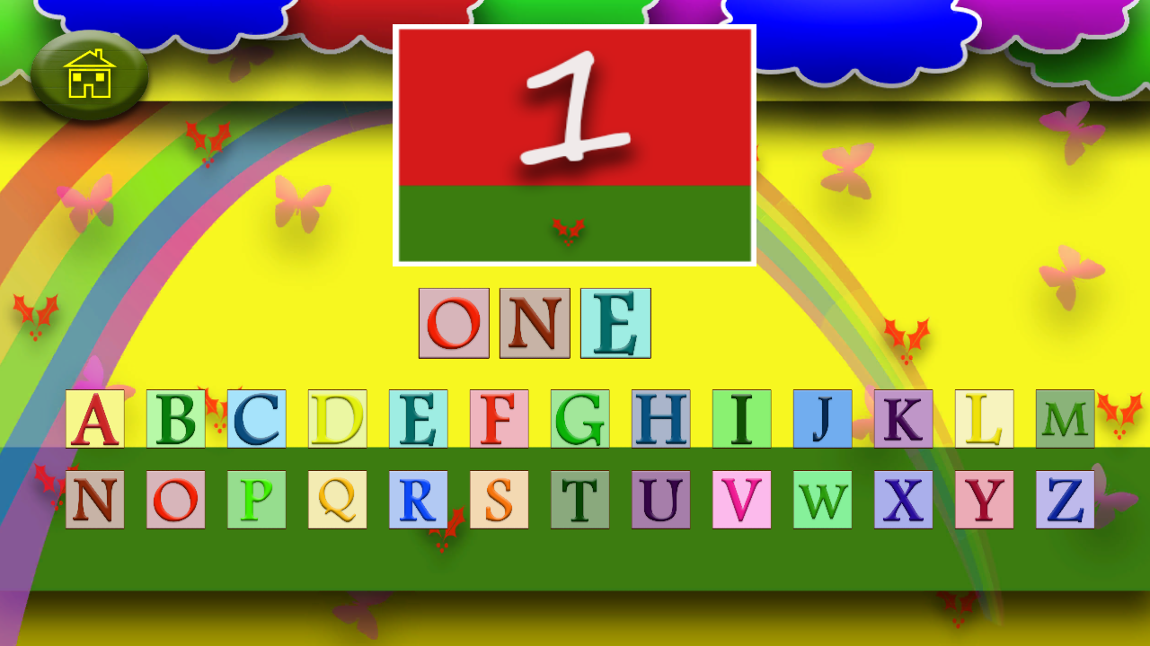 Kids Numbers Spelling Pro- screenshot