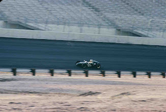 """Photo: September 1969; photo by Ron Nash; Weldon Nash """"at speed"""" on the TWS track; This was the first-ever race at TWS, a """"shakedown"""" race for the facility prior to TWS hosting a Can-Am race in October"""