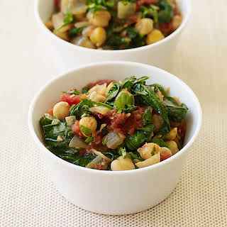 Chickpea and Spinach Stew.