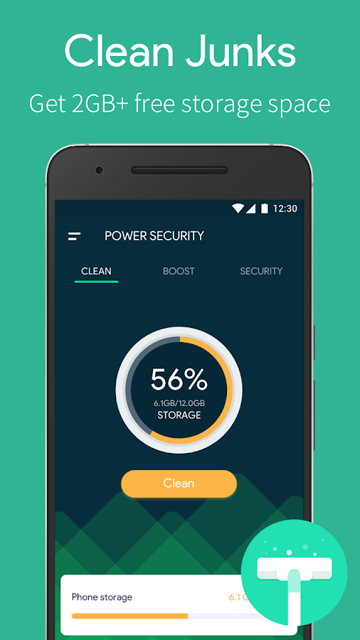 how to clean virus effected android