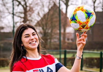 Na Tessa Wullaert draaide opnieuw een vrouwelijke voetbalster de bordjes om in 'Het Rad'