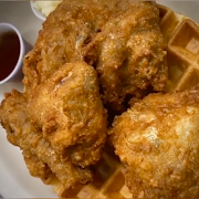 Belgian Waffle - with Fried Chicken