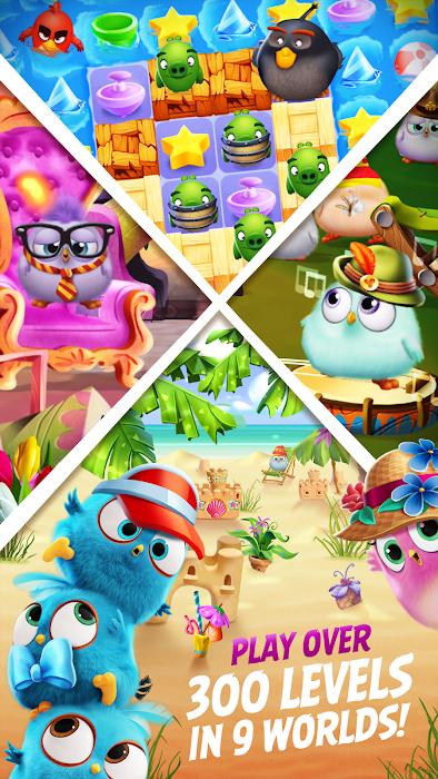 Angry Birds Match- screenshot