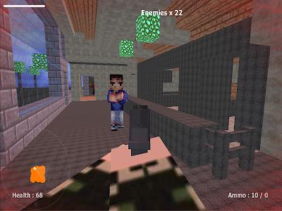 Cube Gun 3d - Free Mine FPS vC10.1