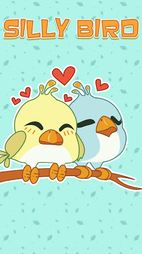GO Keyboard Sticker Silly Bird 玩個人化App免費 玩APPs