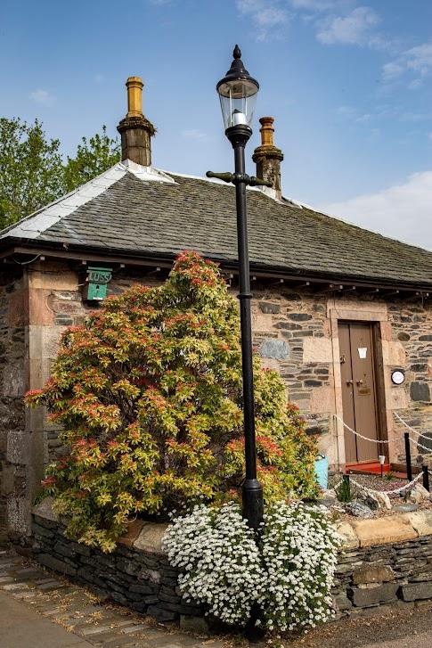 Luss, Szkocja, Z Glasgow na Wyspę Skye