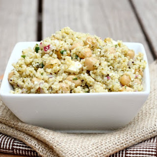 Quinoa With Chickpeas