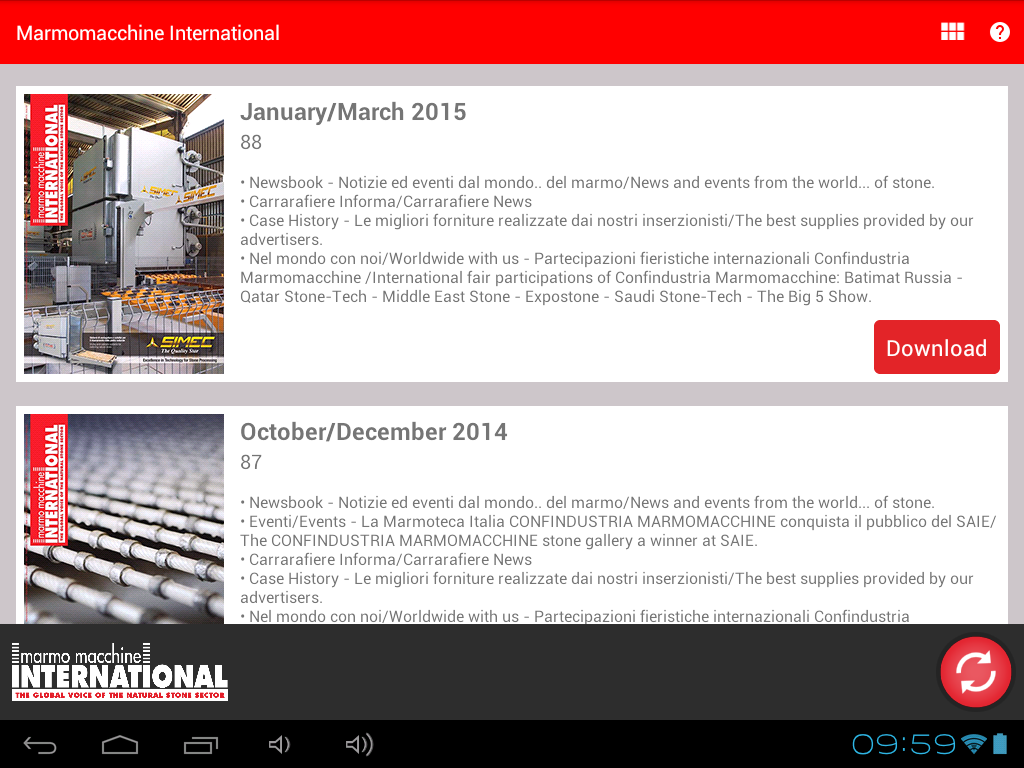 Marmomacchine International - Android Apps on Google Play