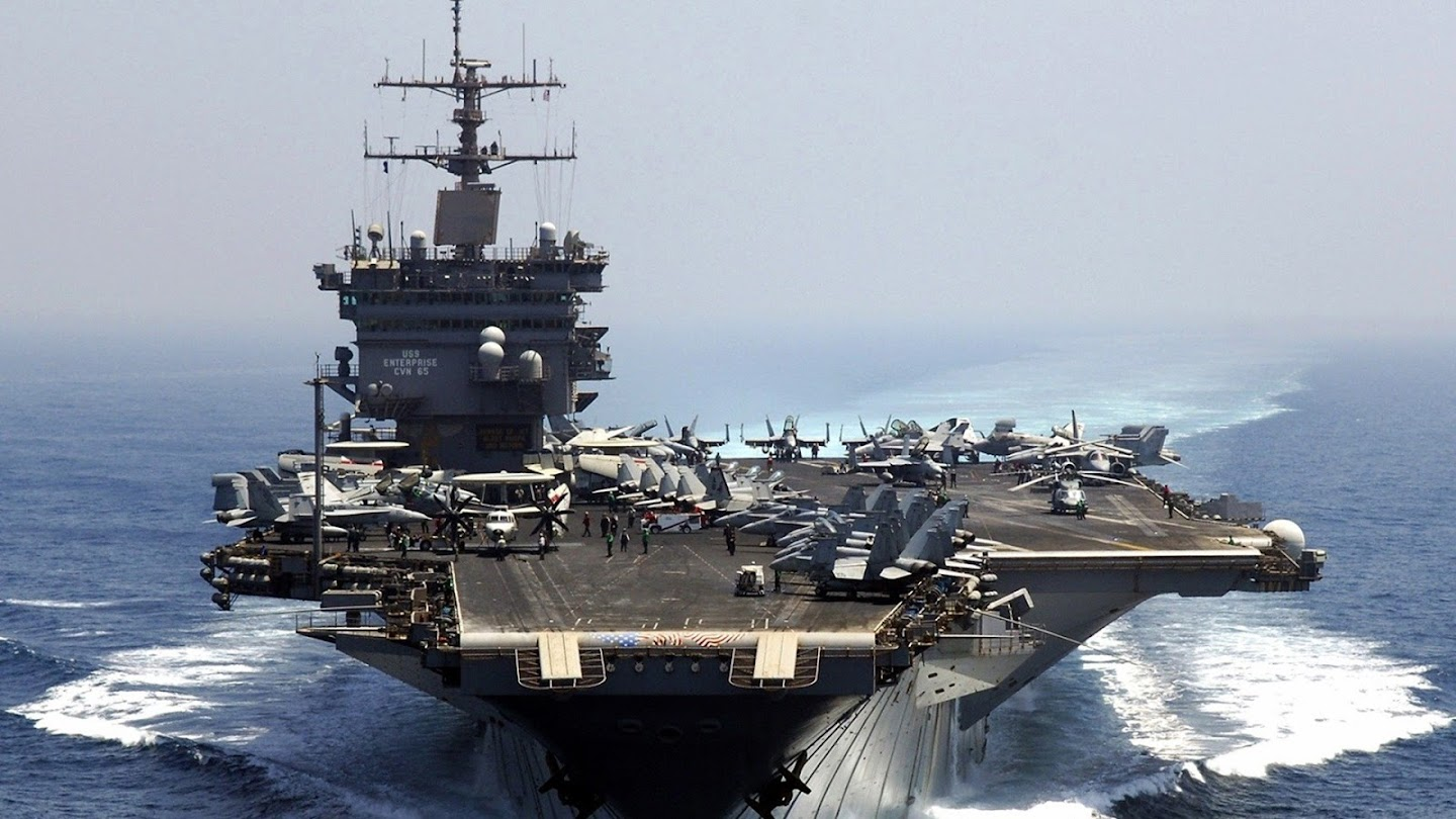 Watch Carriers at War: USS Enterprise live