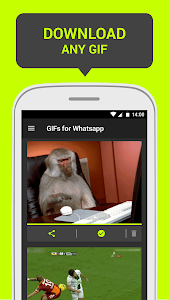 GIFs for Whatsapp screenshot 2