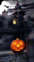 Halloween Live Wallpaper APK screenshot thumbnail 1