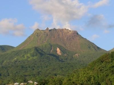 Photo Volcan de la Soufrière