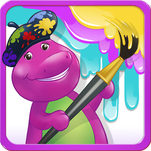 Color with Barney (game)