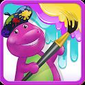 Colorea con Barney
