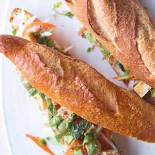 Bahn Mi With Crispy Tofu & Pickled Vegetables