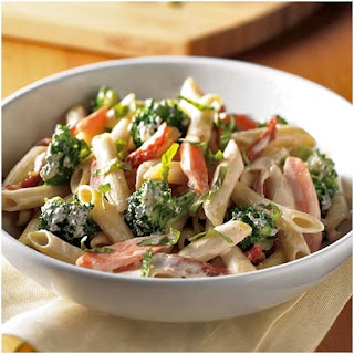 Light and Healthy Creamy One-Pot Pasta.