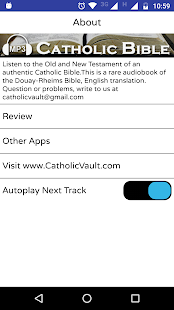 Audio Catholic Bible- screenshot thumbnail