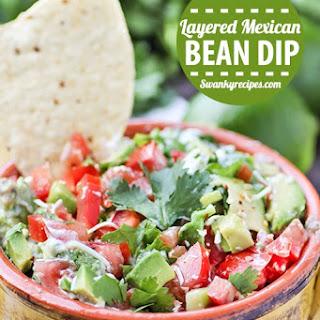 Layered Mexican Bean Dip